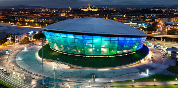 Hydro stadium in Glasgow