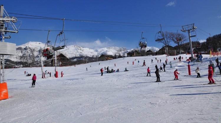 Sauze D'oulx ski slope: Photo by Alpes de Haute Provence