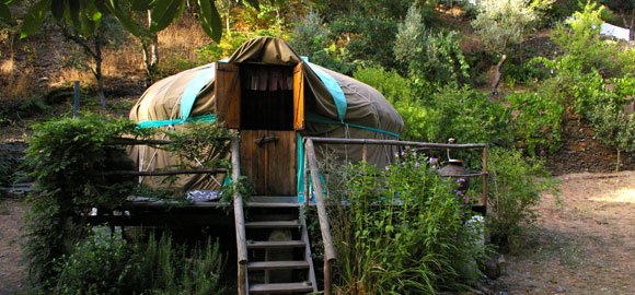chestnut yurt